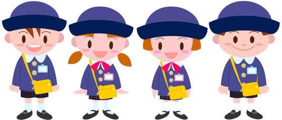 私立幼稚園園児グループ