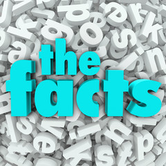 The Facts 3D Words Background Information Real Data