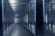 Leinwanddruck Bild - Datacenter Alley
