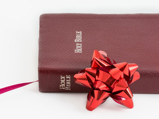 Spiritual Gift .The Bible, Word of God as Valuable Present
