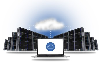 Cloud Hosting Concept