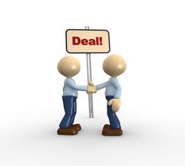 Deal concept