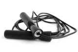 Black skipping rope