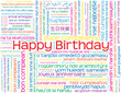 HAPPY BIRTHDAY CARD (greetings celebration message party time)