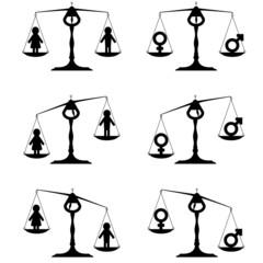 gender equality set