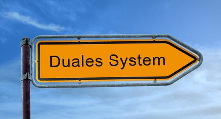Strassenschild 8 - Duales System