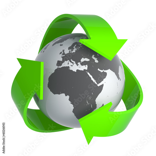 Recycle grey earth