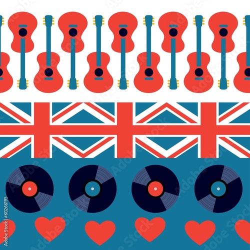 english musical pattern - 60266195