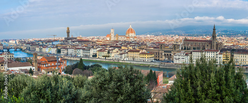 A beautiful panorama of Florence, Tuscany, Italy.