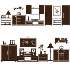 furniture sets eps10