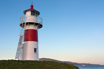 Lighthouse of Torshavn, Faroe Islands