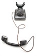 classic antique black telephone