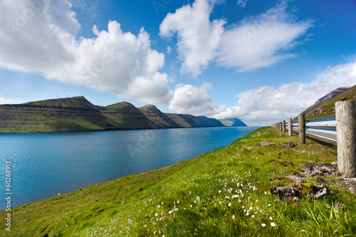 Natural landscape of Faroe Islands