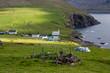 Faroe Islands, village of Vidareidi