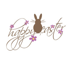 easter card bunny background greetingcard