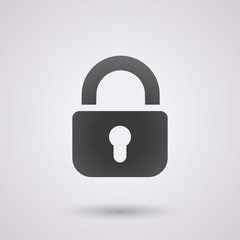 padlock icon background