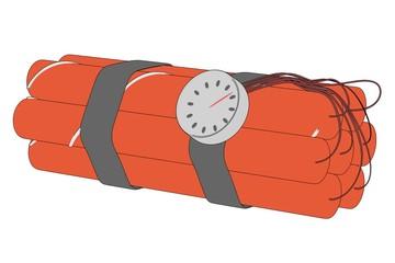 cartoon illustration of dynamite pack