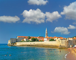 Budva - Old town in Montenegro