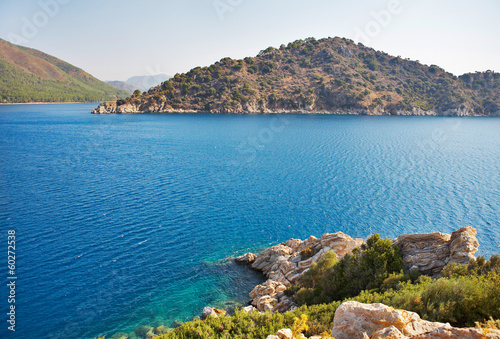 Mediterranean sea landscape. Turkey. Marmaris