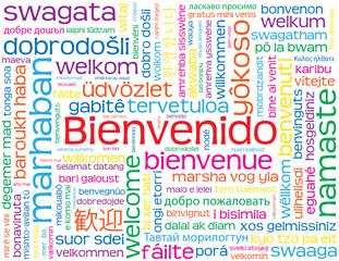 """Carta """"BIENVENIDO"""" (bienvenida recepción servicio al cliente)"""