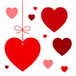 VALENTINE'S HEART-SHAPED PRICE TAGS (day love romance)