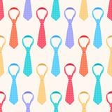 Fototapety colored ties