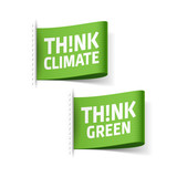 Think Climate and Think Green labels