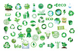 Nature and Recycle Vector