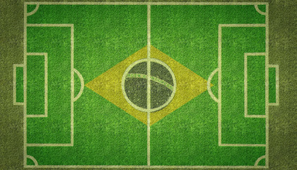 Brazil Football Soccer Pitch