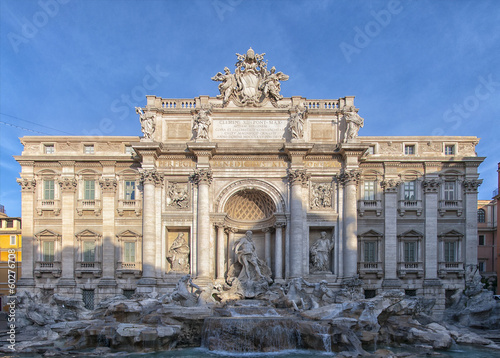 Rome Trevi Fountain 01
