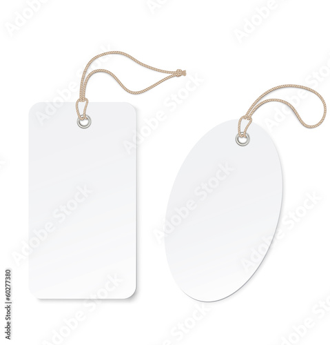 Label (tag) isolated on white background. Vector illustration