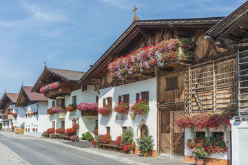 Village of Mutters near Innsbruck, Austria.
