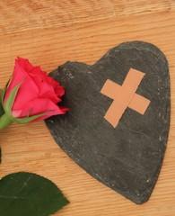 Trost für ein leidendes Herz