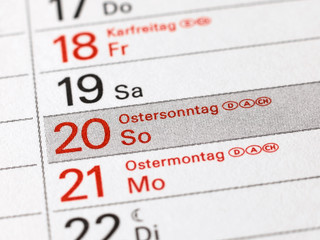 Osterfest - Ostersonntag