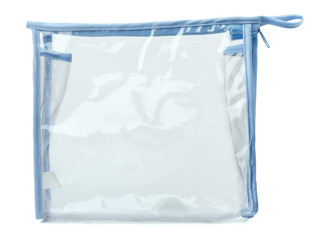Empty plastic transparent bag