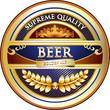 Beer Label - Ornate Vintage Design