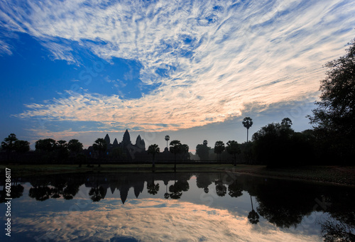 Sunrise at Angkor Wat Reflection