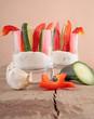 Kräuter-Dip mit Paprika