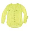 bright lime green shirt