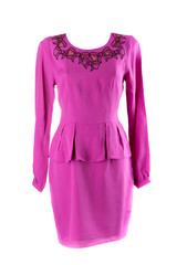 Violet feminine dress