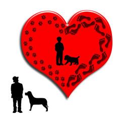 Amicizia uomo-cane