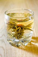 Chinese lotus flower tea