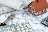 Bauplan für ein Haus - 60288974