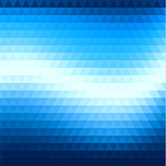 Abstract triangular flow background
