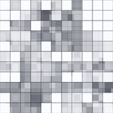 Stylish mosaic background with soft white and gray tones