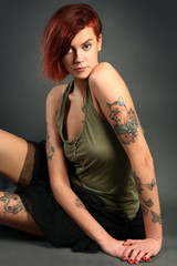 sensual girl