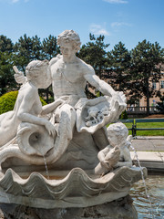 Familiy made out of marble, Vienna, Austria
