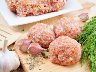 meatball from minced meat