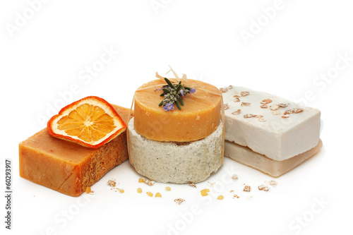 Set of handmade soap