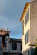 Buildings inside Carcassonne medieval city